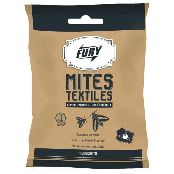 FURY CROCHETS MITES TEXTILES X4