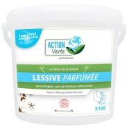 ACTION VERTE TABLETTES LAVE LINGE PARFUMEES X160