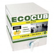 ECOCUB CLEANER DURASOLS TRIPLE ACTION SOLS CITRON 2D