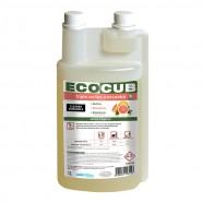 FLACON DOSEUR VIDE CLEANER DURASOLS ECOCUB TRIPLE ACTION SOLS 3D PAMPLEMOUSSE