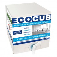 ECOCUB CLEANER NETTOYANT DEGRAISSANT VITRES ET SURFACES