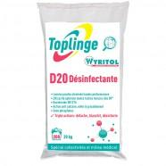 TOPLINGE WYRITOL D20 DÉSINFECTANTE SANS PHOSPHATES
