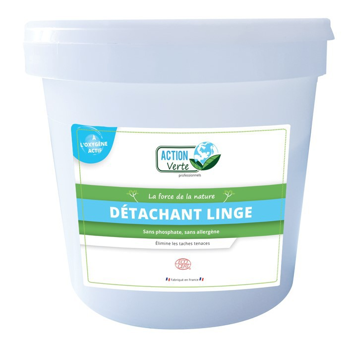 ACTION VERTE DETACHANT LINGE