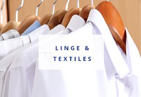 Linge et textiles